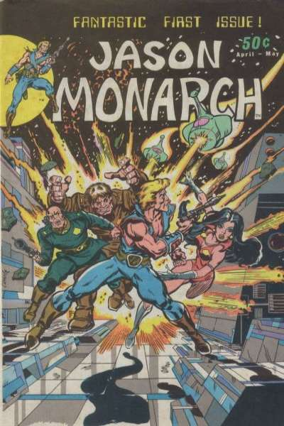 Jason Monarch #1 comic books for sale