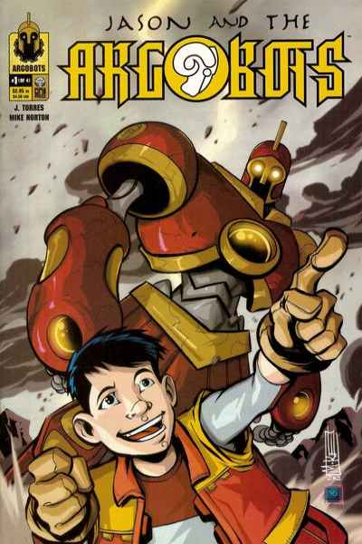 Jason and the Argobots comic books