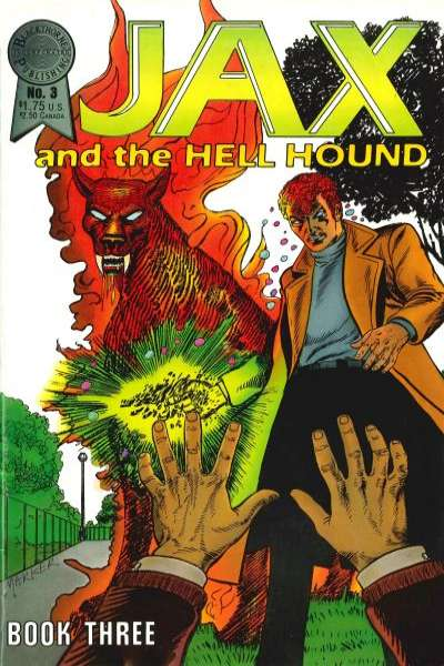Jax and the Hell Hound #3 comic books - cover scans photos Jax and the Hell Hound #3 comic books - covers, picture gallery