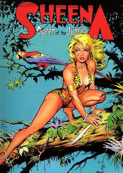 Jerry Iger's Classic Sheena Comic Books. Jerry Iger's Classic Sheena Comics.