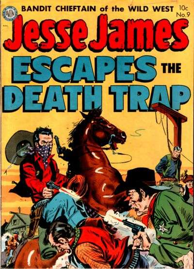Jesse James #9 comic books - cover scans photos Jesse James #9 comic books - covers, picture gallery