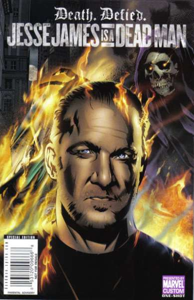 Jesse James is a Dead Man Custom Comic #1 comic books - cover scans photos Jesse James is a Dead Man Custom Comic #1 comic books - covers, picture gallery