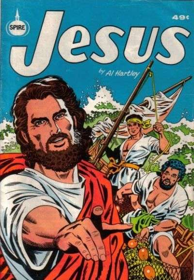 Jesus #1 Comic Books - Covers, Scans, Photos  in Jesus Comic Books - Covers, Scans, Gallery