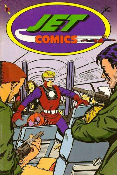 Jet Comics comic books