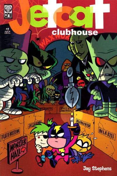 Jetcat Clubhouse #2 comic books for sale