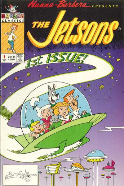 Jetsons #1 comic books - cover scans photos Jetsons #1 comic books - covers, picture gallery