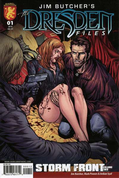 Jim Butcher's The Dresden Files: Storm Front #1 comic books - cover scans photos Jim Butcher's The Dresden Files: Storm Front #1 comic books - covers, picture gallery