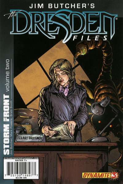 Jim Butcher's The Dresden Files: Storm Front #3 comic books for sale