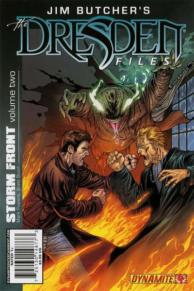 Jim Butcher's The Dresden Files: Storm Front #4 comic books - cover scans photos Jim Butcher's The Dresden Files: Storm Front #4 comic books - covers, picture gallery