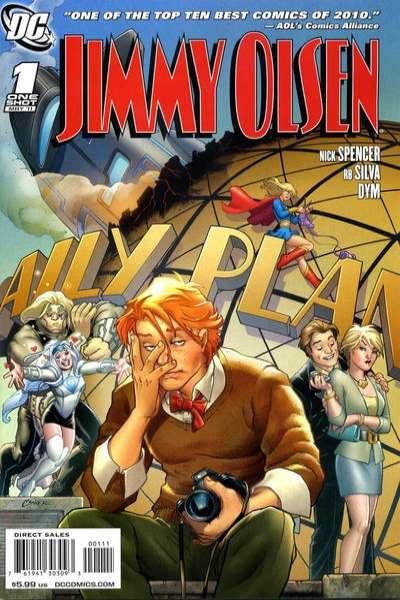 Jimmy Olsen comic books