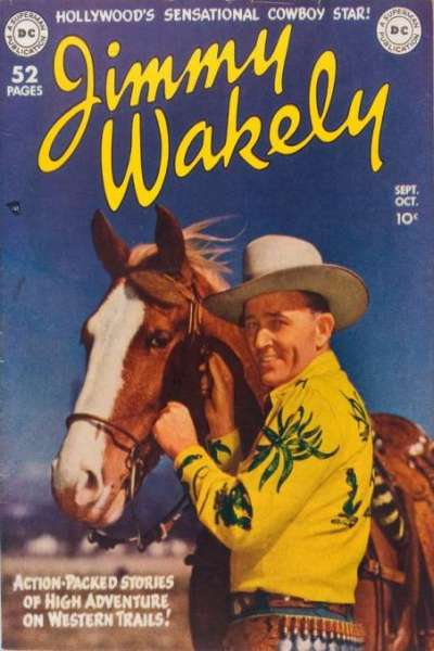 Jimmy Wakely #1 comic books - cover scans photos Jimmy Wakely #1 comic books - covers, picture gallery