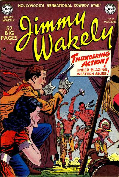 Jimmy Wakely #10 comic books - cover scans photos Jimmy Wakely #10 comic books - covers, picture gallery
