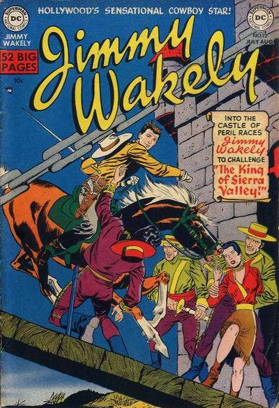 Jimmy Wakely #12 comic books - cover scans photos Jimmy Wakely #12 comic books - covers, picture gallery