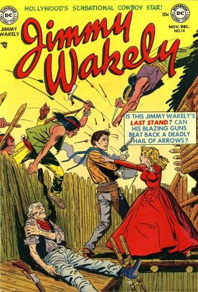 Jimmy Wakely #14 comic books - cover scans photos Jimmy Wakely #14 comic books - covers, picture gallery