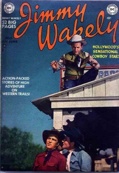 Jimmy Wakely #5 comic books for sale