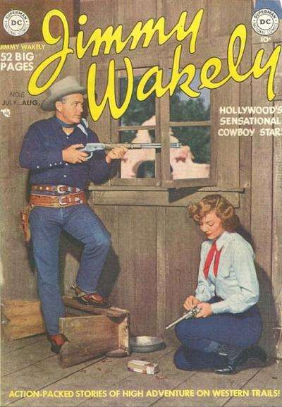 Jimmy Wakely #6 comic books - cover scans photos Jimmy Wakely #6 comic books - covers, picture gallery