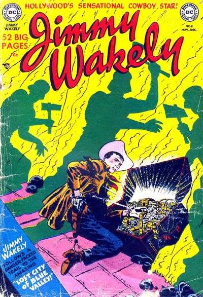 Jimmy Wakely #8 comic books - cover scans photos Jimmy Wakely #8 comic books - covers, picture gallery
