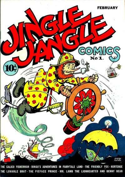 Jingle Jangle Comics comic books
