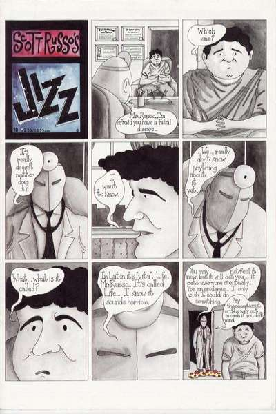 Jizz #10 comic books - cover scans photos Jizz #10 comic books - covers, picture gallery