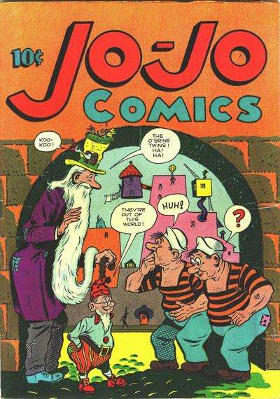 Jo-Jo Comics comic books