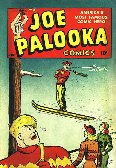 Joe Palooka #3 Comic Books - Covers, Scans, Photos  in Joe Palooka Comic Books - Covers, Scans, Gallery
