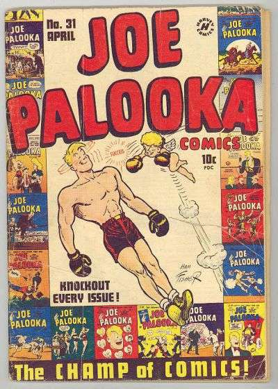 Joe Palooka #31 comic books for sale