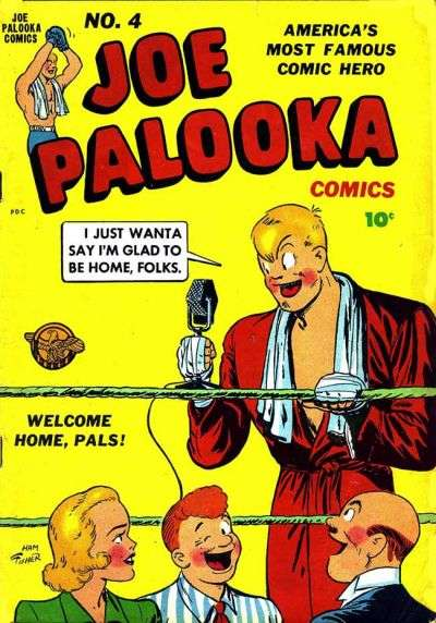 Joe Palooka #4 Comic Books - Covers, Scans, Photos  in Joe Palooka Comic Books - Covers, Scans, Gallery