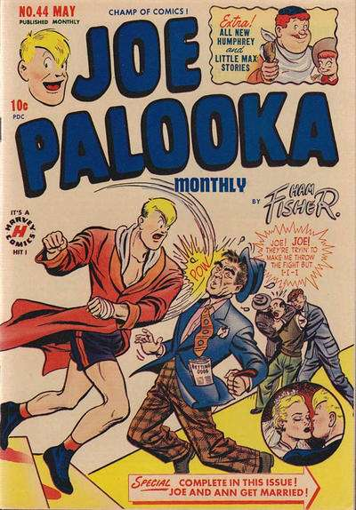 Joe Palooka #44 comic books for sale