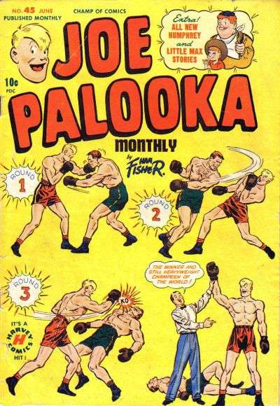 Joe Palooka #45 comic books for sale