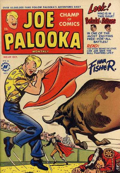 Joe Palooka #49 comic books for sale