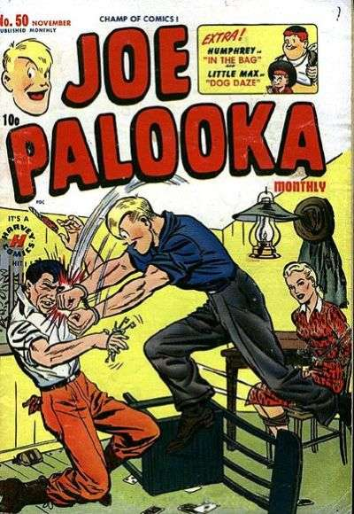 Joe Palooka #50 comic books for sale