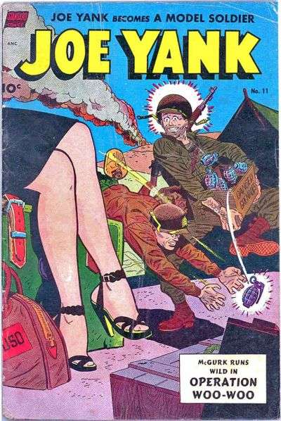 Joe Yank #11 comic books for sale