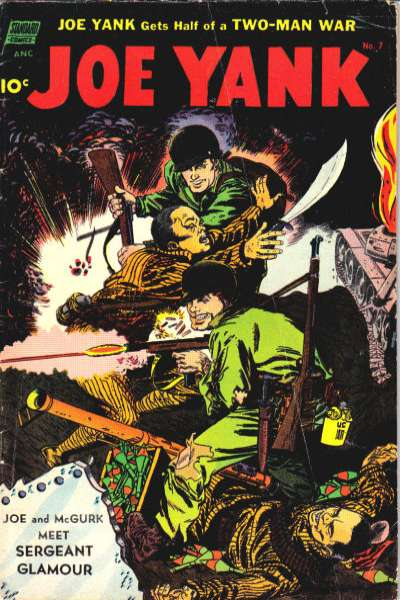 Joe Yank #7 comic books for sale
