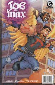 Joe and Max comic books