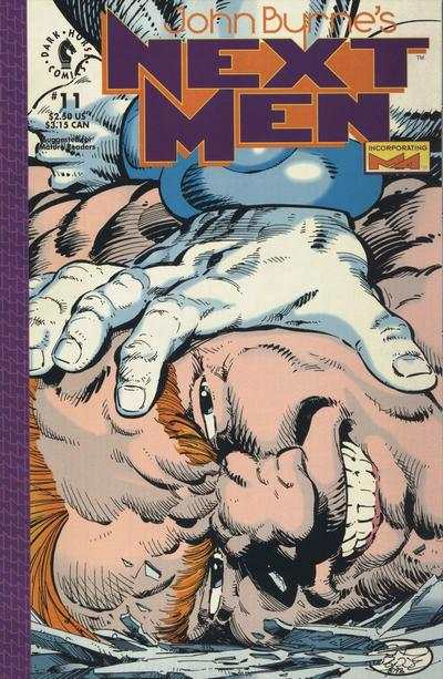 John Byrne's Next Men #11 Comic Books - Covers, Scans, Photos  in John Byrne's Next Men Comic Books - Covers, Scans, Gallery