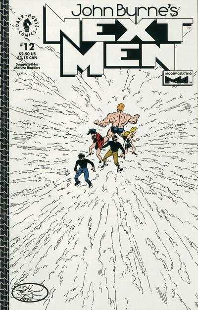 John Byrne's Next Men #12 comic books for sale