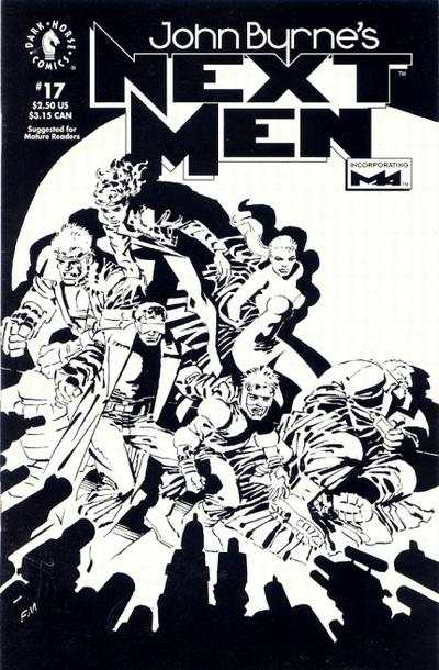 John Byrne's Next Men #17 comic books for sale