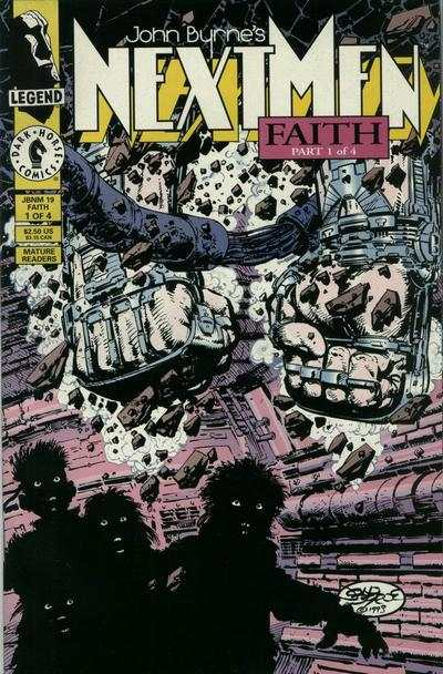 John Byrne's Next Men #19 comic books for sale