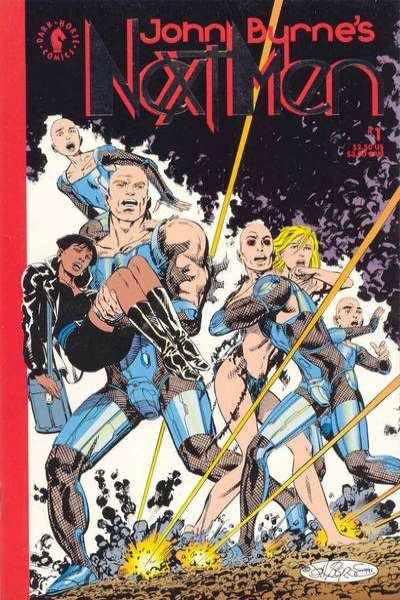 John Byrne's Next Men #1 comic books for sale