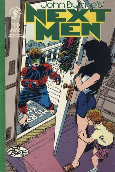 John Byrne's Next Men #10 comic books for sale