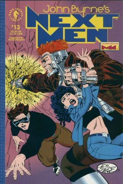 John Byrne's Next Men #13 Comic Books - Covers, Scans, Photos  in John Byrne's Next Men Comic Books - Covers, Scans, Gallery