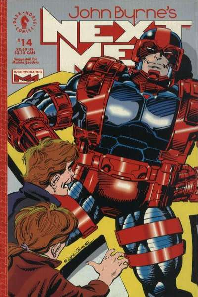 John Byrne's Next Men #14 comic books for sale