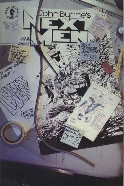 John Byrne's Next Men #15 comic books for sale