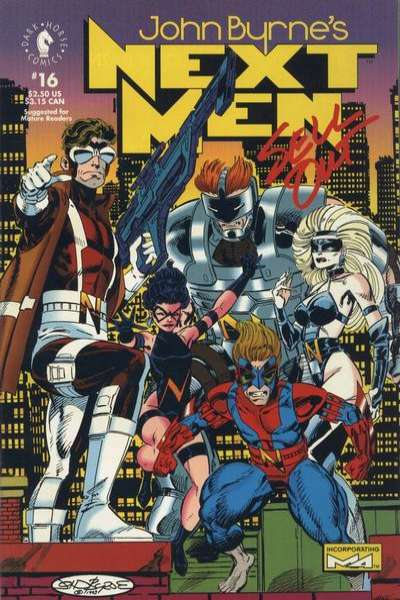 John Byrne's Next Men #16 comic books for sale