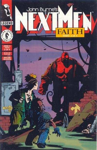 John Byrne's Next Men #21 Comic Books - Covers, Scans, Photos  in John Byrne's Next Men Comic Books - Covers, Scans, Gallery