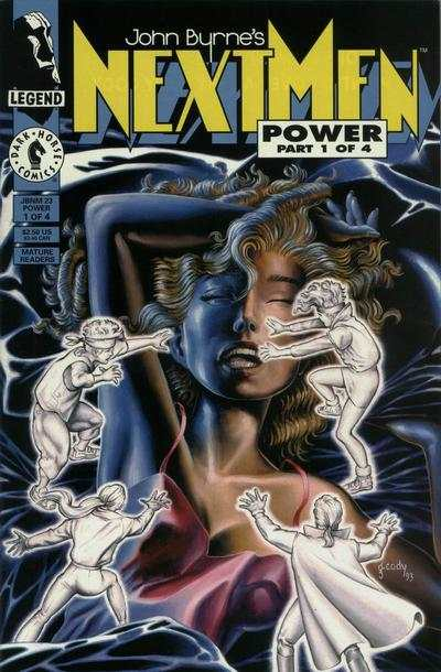 John Byrne's Next Men #23 comic books for sale