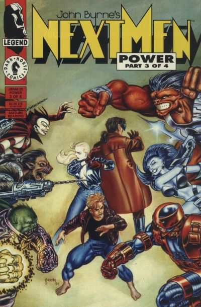 John Byrne's Next Men #25 comic books for sale