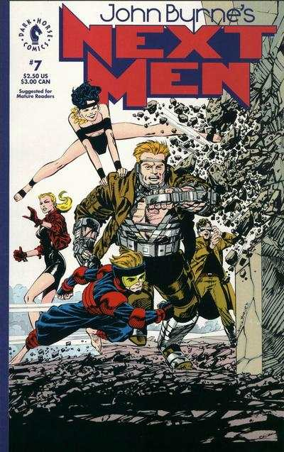 John Byrne's Next Men #7 Comic Books - Covers, Scans, Photos  in John Byrne's Next Men Comic Books - Covers, Scans, Gallery