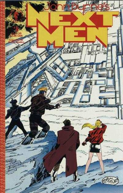 John Byrne's Next Men #8 comic books for sale