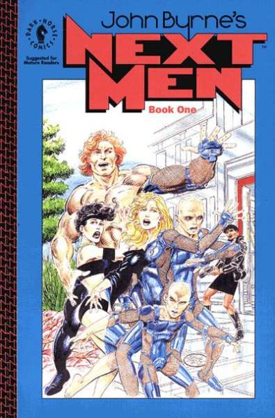 John Byrne's Next Men #1 comic books - cover scans photos John Byrne's Next Men #1 comic books - covers, picture gallery